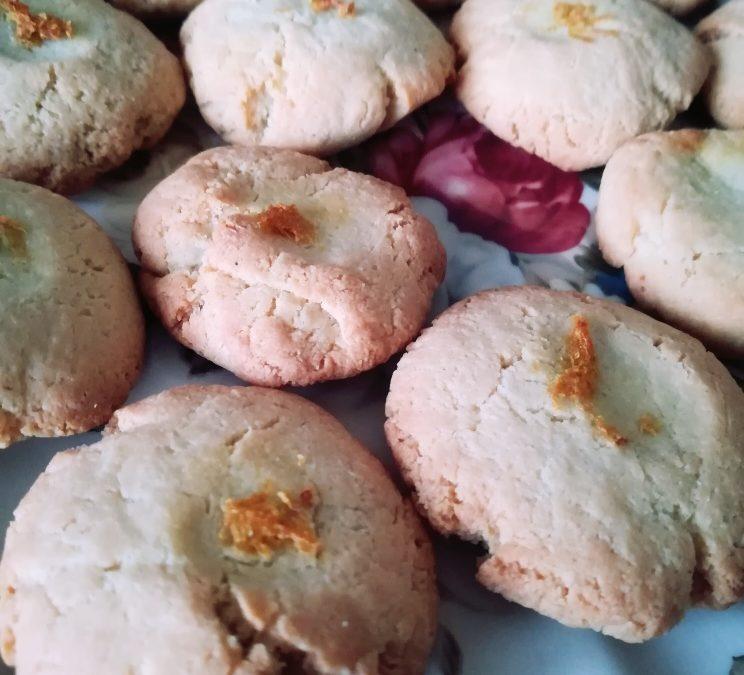 KETO-biscottini mandorle e limone