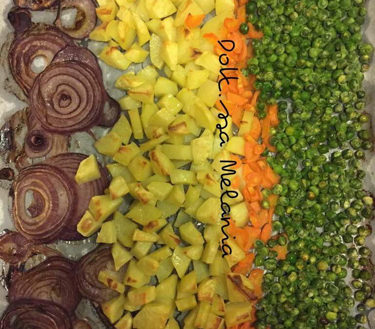 Teglia vegetariana al forno
