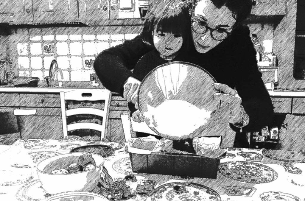 Quando una fiaba diventa un piatto: PLUMCAKE DI ZUCCA E MANDORLE AL PROFUMO DI MANDARINO